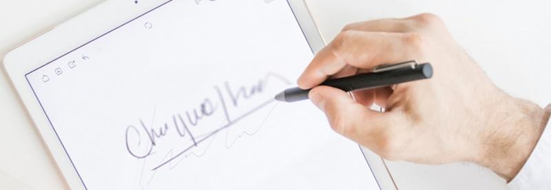 Ручка подпись