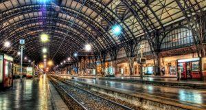 Торговая точка на железнодорожном вокзале